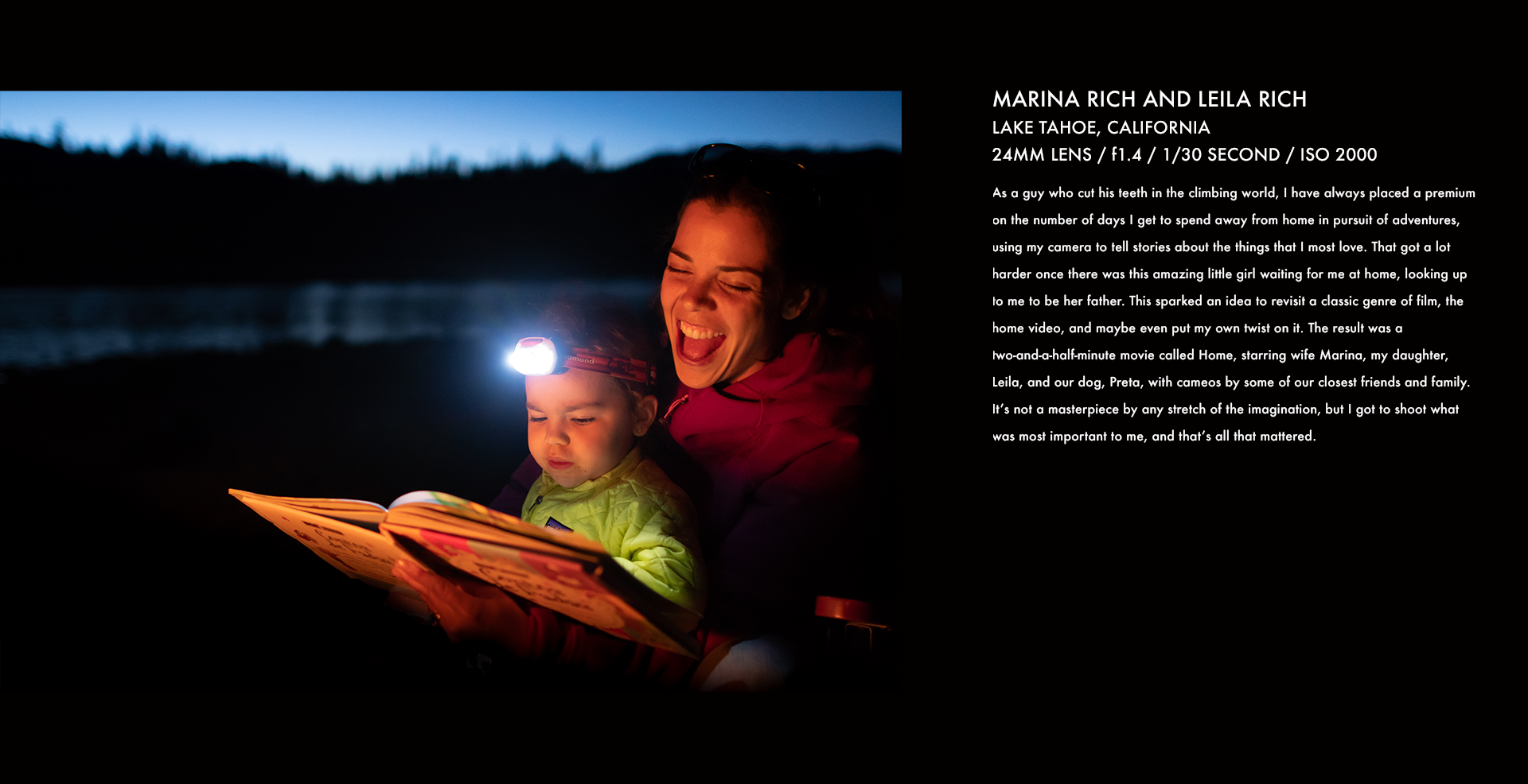 leila rich, marina rich, corey rich, nikon, stories behind the images, book, photo