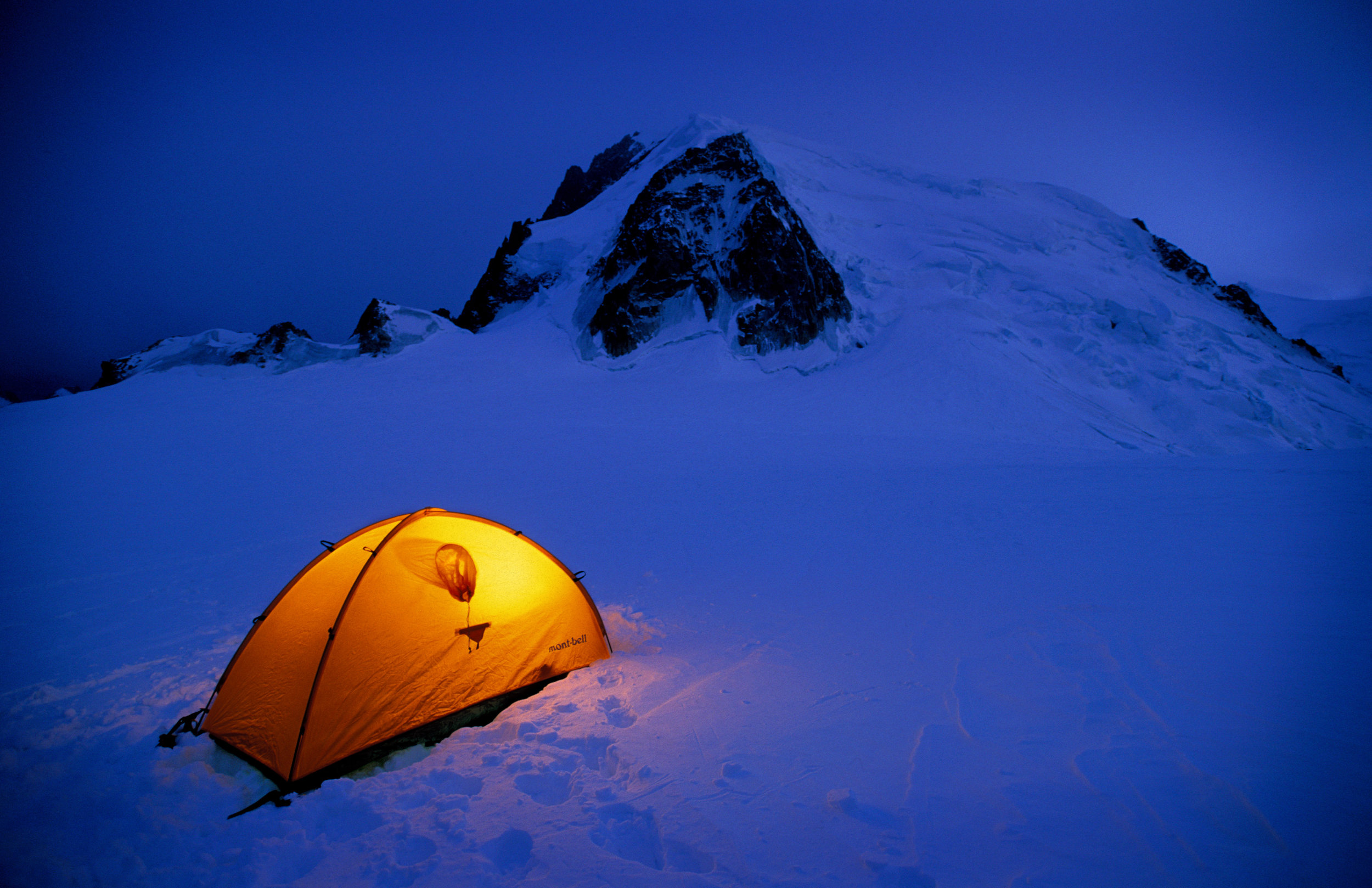 Justin Bastien & Brittany Griffith — Mont Blanc, Chamonix, France