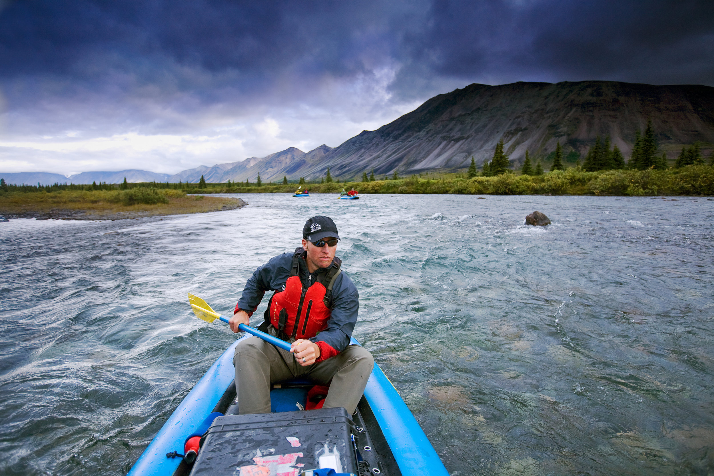 Dan Oberlatz — Chilikadrotna River, Lake Clark National Park and Preserve, Alaska