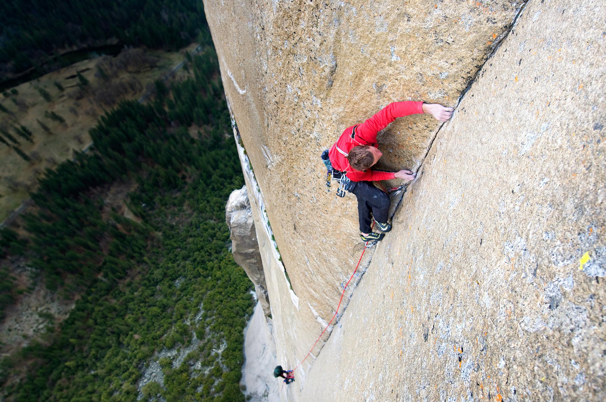 Tommy Caldwell — Dawn Wall, El Capitan, Yosemite, California