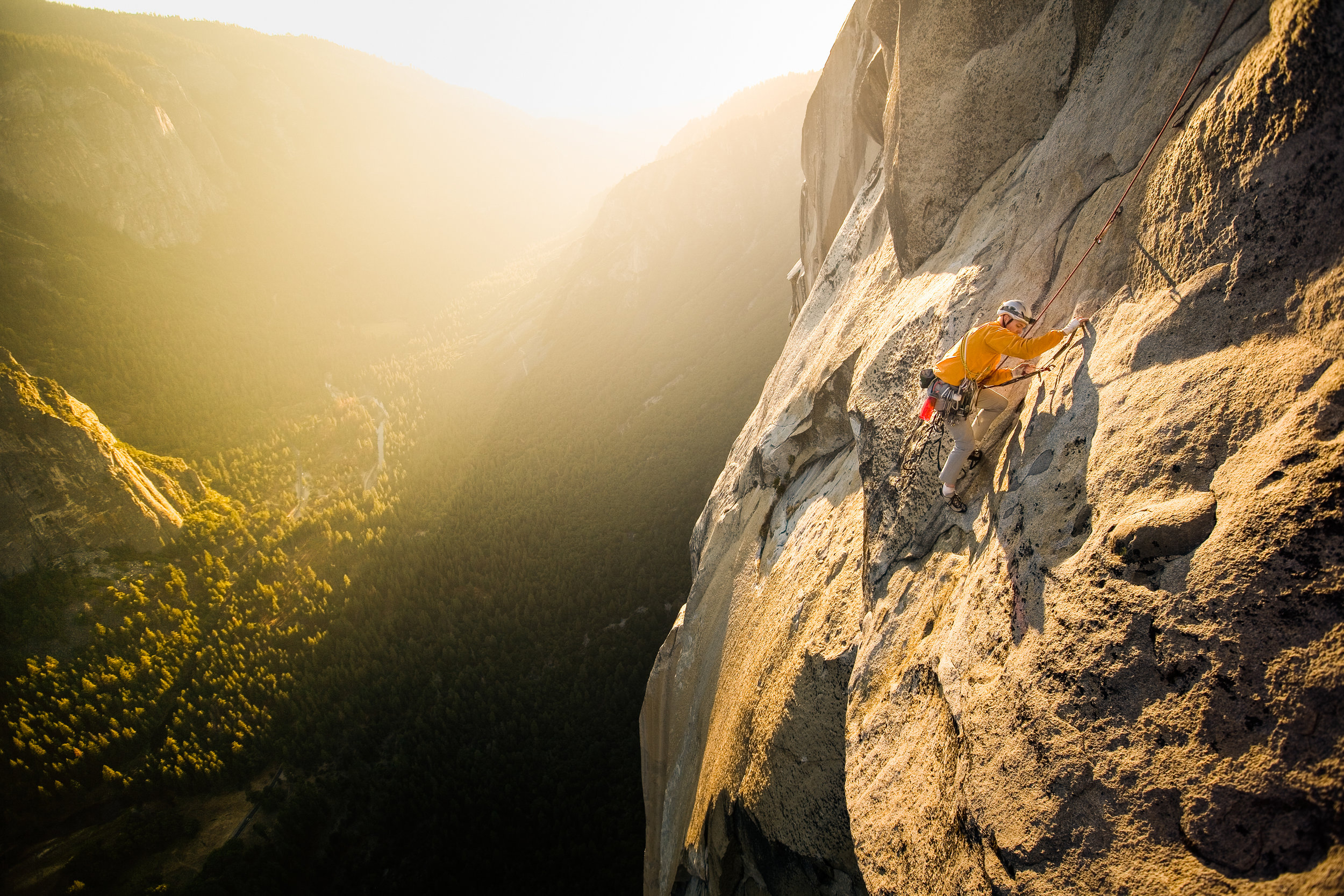 Jim Collins — The Nose, El Capitan, Yosemite, California