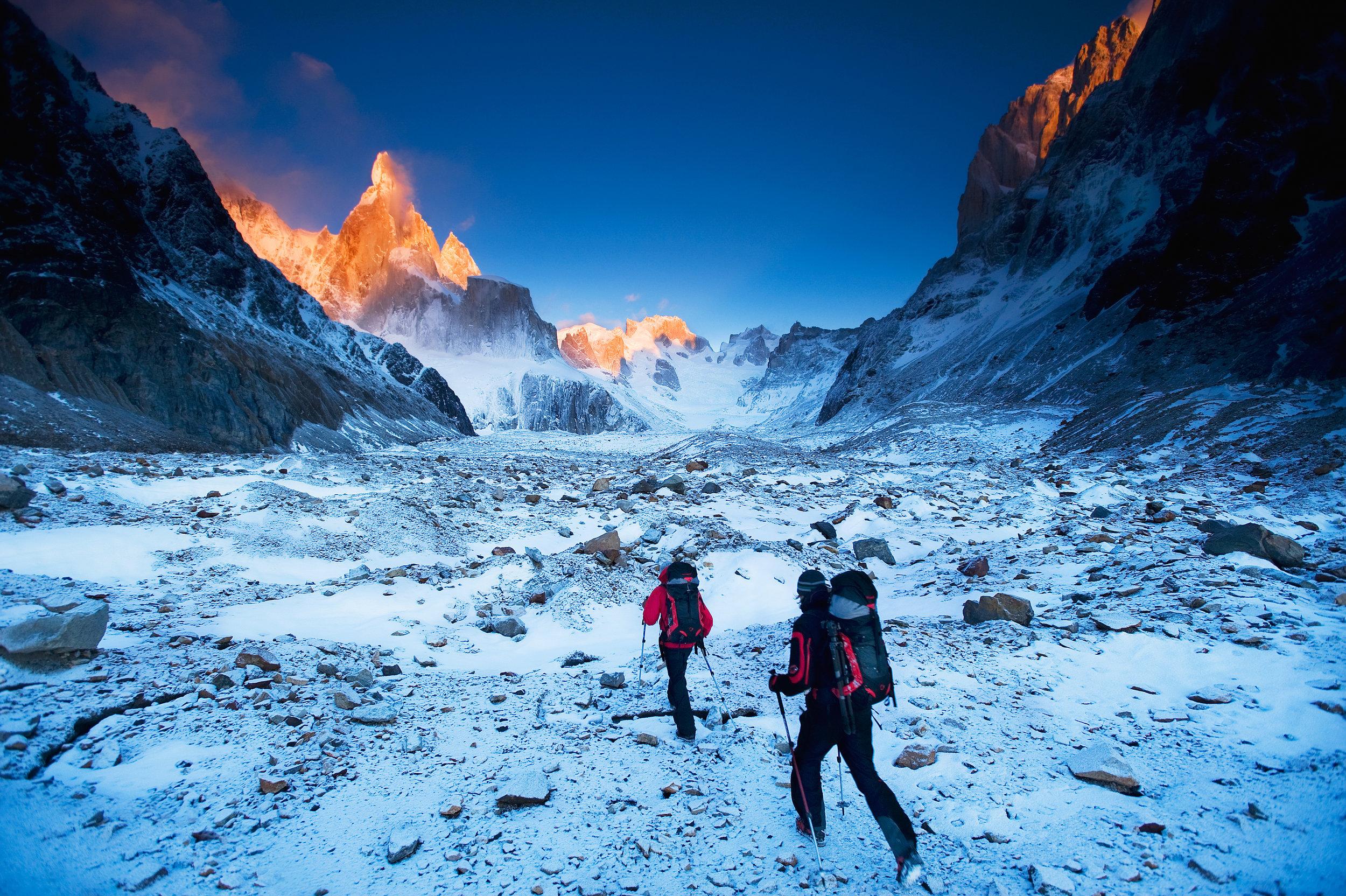 David Lama & Daniel Steuerer — Patagonia, Argentina