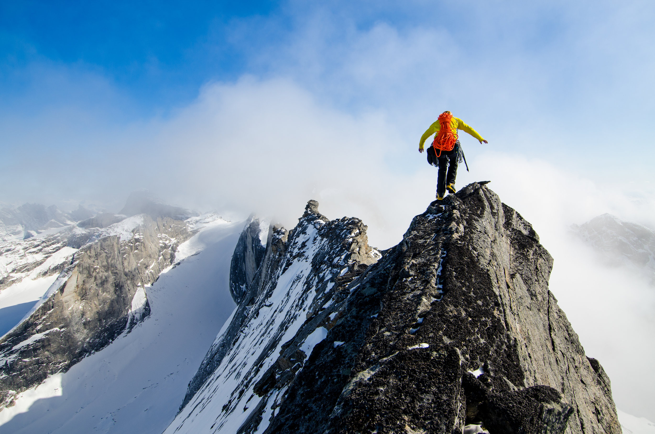 Tommy Caldwell — Arrigetch Peaks, Gates of the Arctic National Park, Alaska