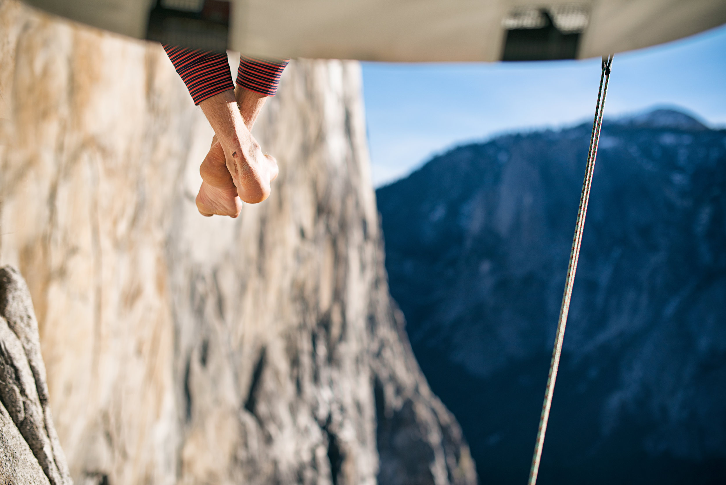 Tommy Caldwell — Dawn Wall, El Capitan, Yosemite, California