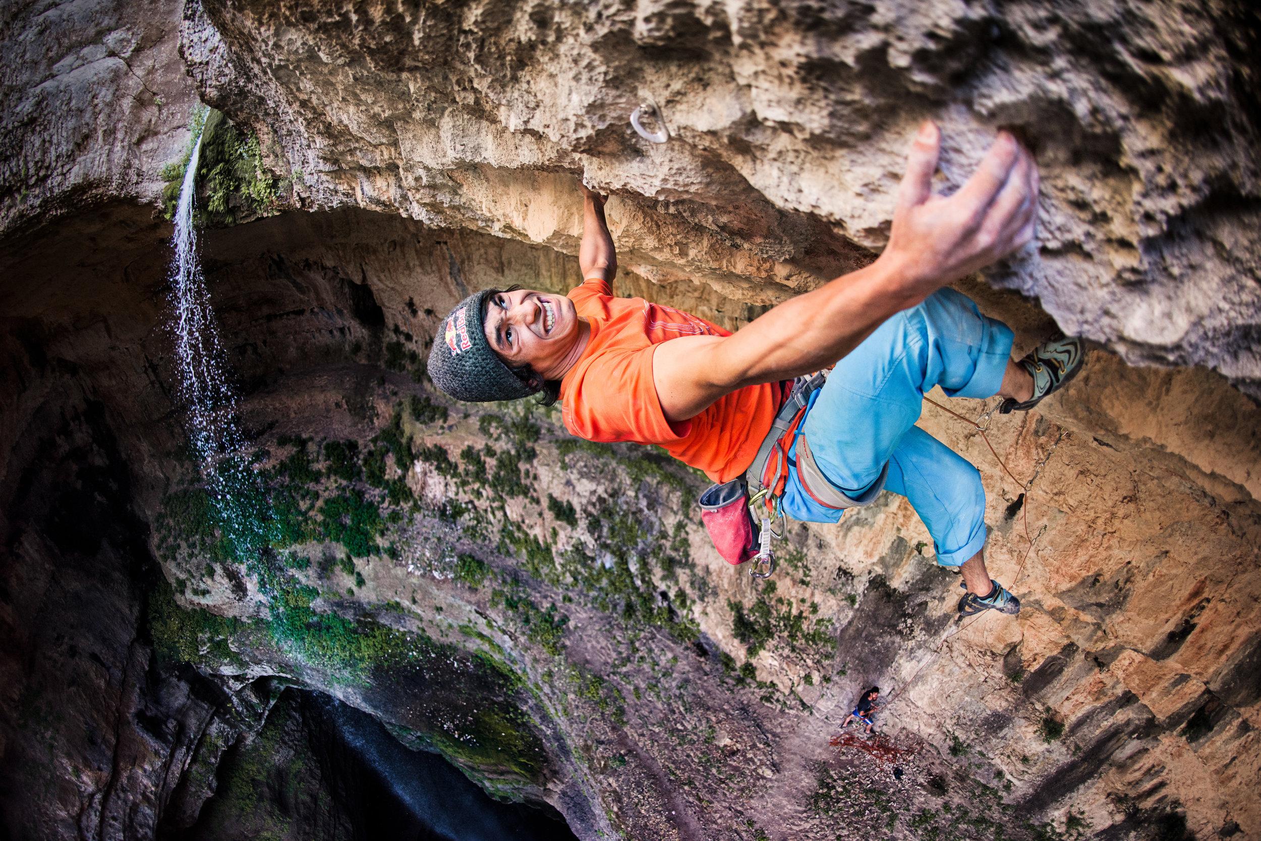 David Lama — Baatara Gorge, Lebanon