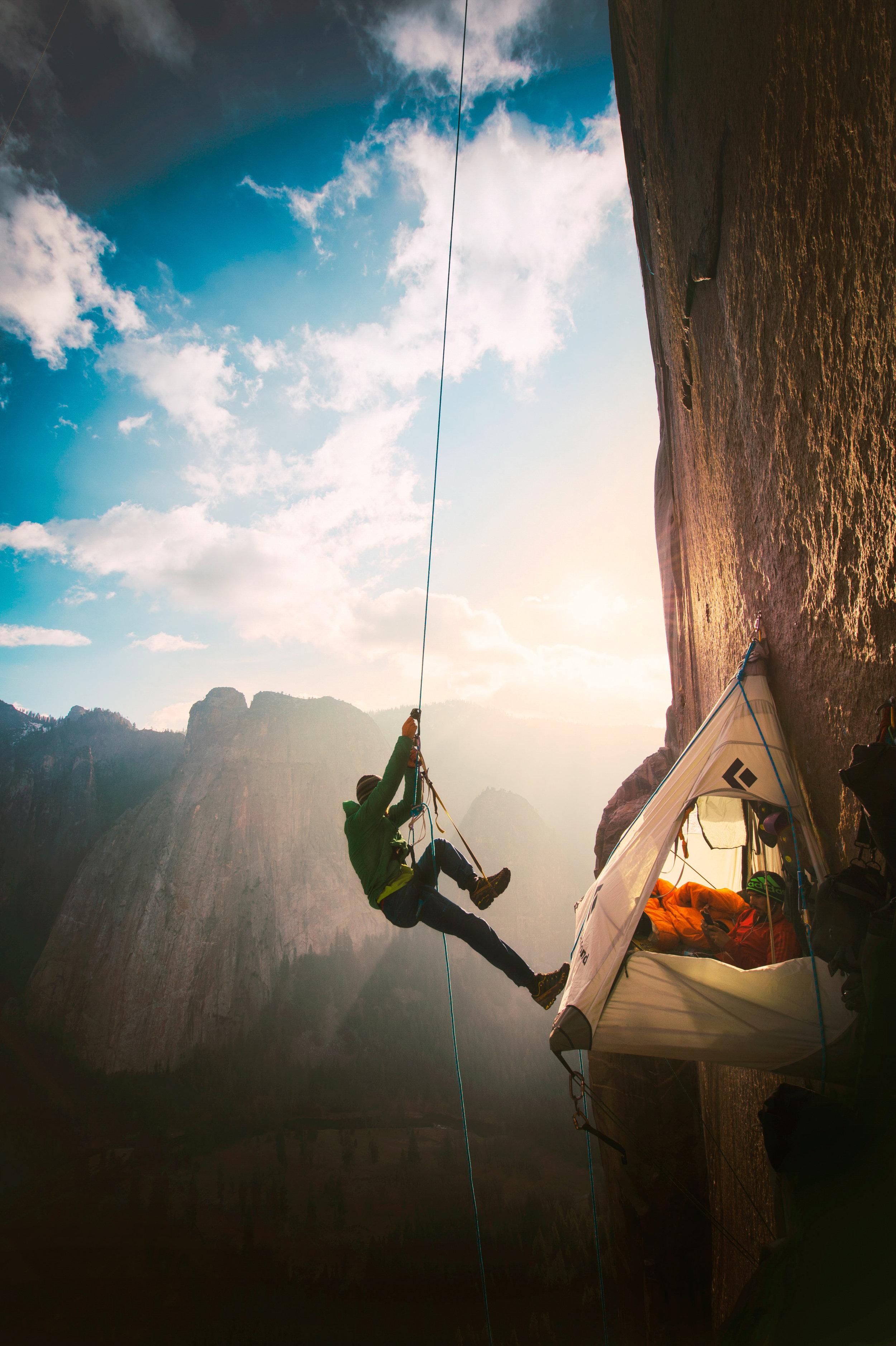 Tommy Caldwell & Kevin Jorgeson — Dawn Wall, El Capitan, Yosemite, California