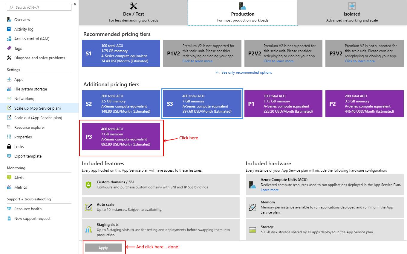 Azure Portal - Scale Up App Service.png