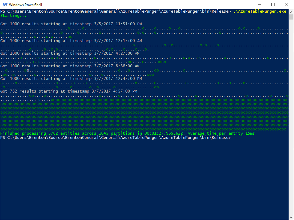 Azure Table Purger - Parallel - Run 1.png