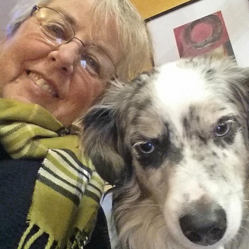 Tory and her dog, Radish