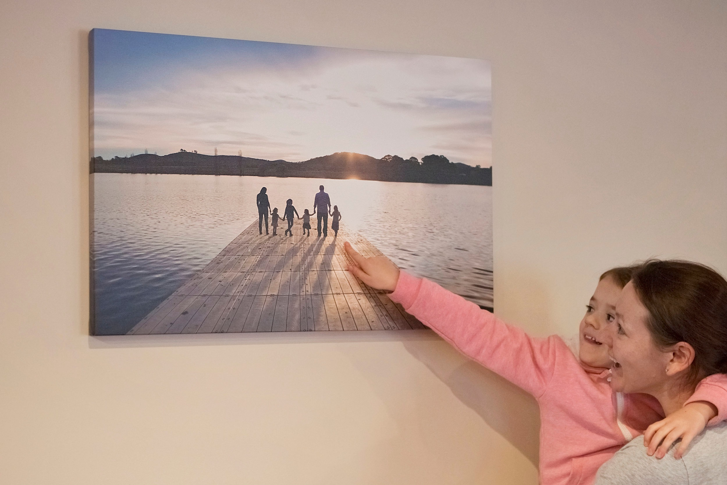 Large Canvas $450   For landscape pictures that suit being enlarged into wall art, I recommend my large canvas'.
