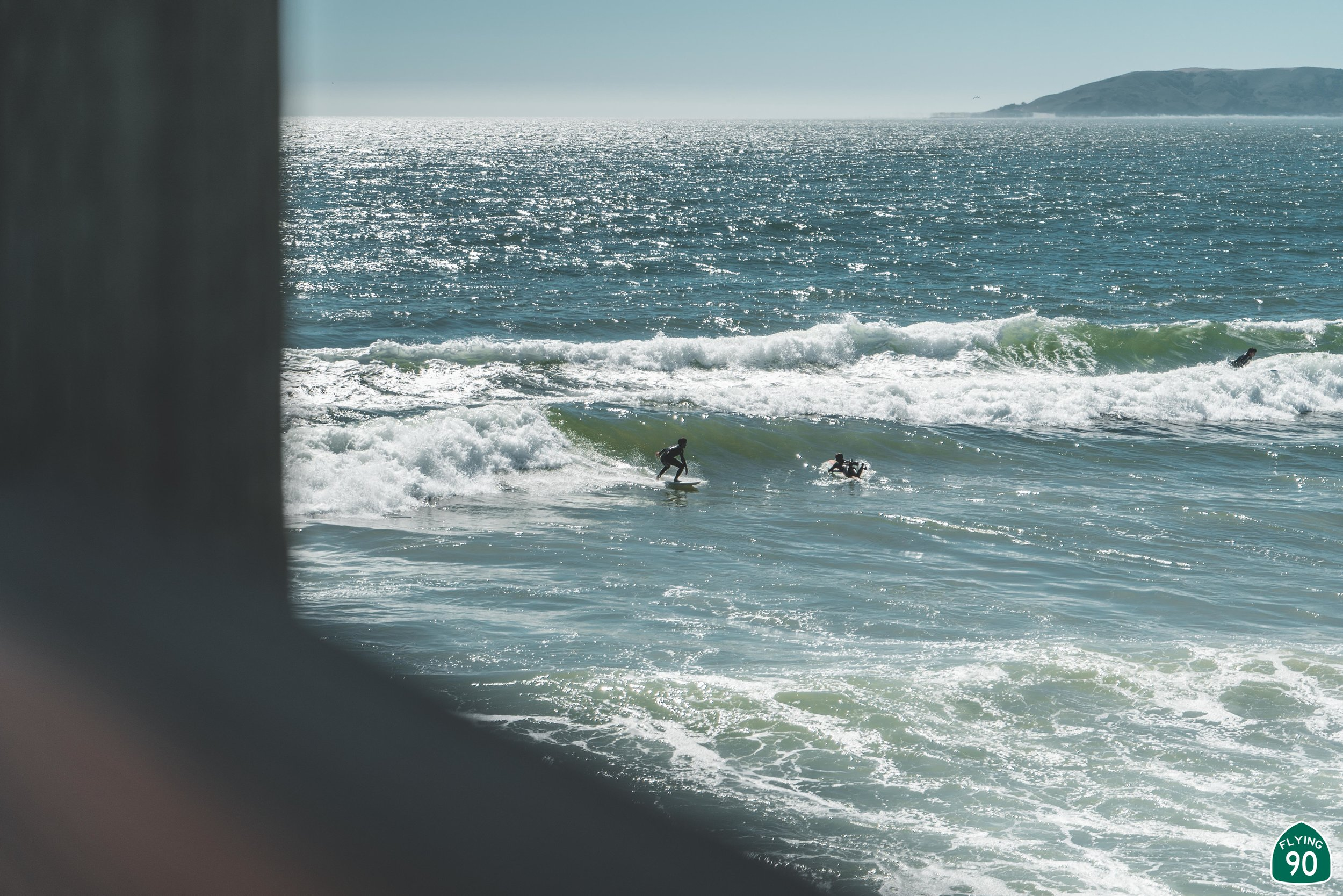 After Oso Flaco, we headed to the Pismo Pier to walk around and take some photos of people getting SUPER pitted.