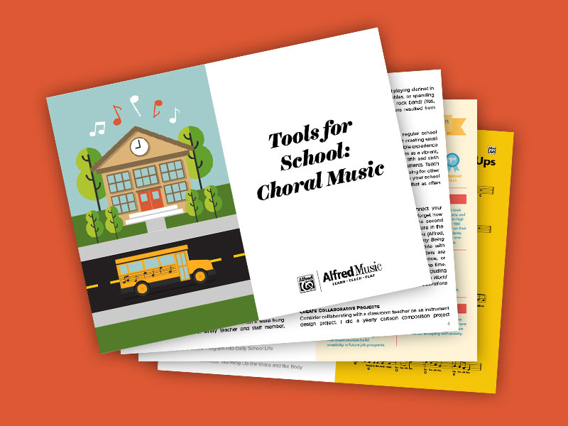 FREE Tools for Schools eBook - For choral directors.CLICK HERE TO DOWNLOAD