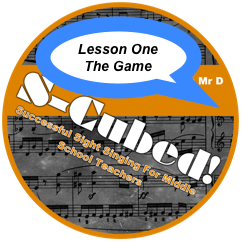 FREE SIGHT SINGING LESSON - First lesson from the ever-popular S-Cubed program by Dale Duncan.CLICK HERE TO DOWNLOAD
