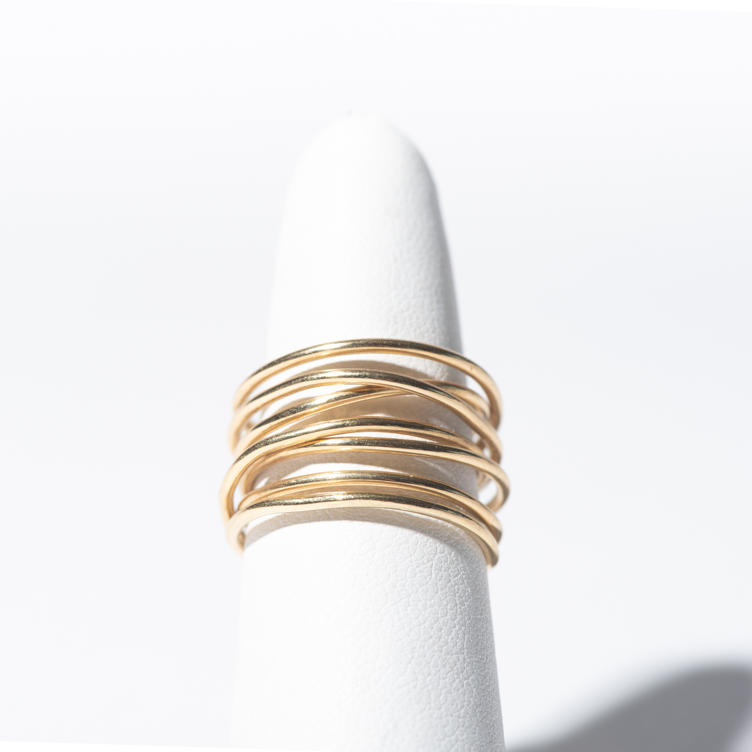 Design Five. - 14K Gold Wrap Ring
