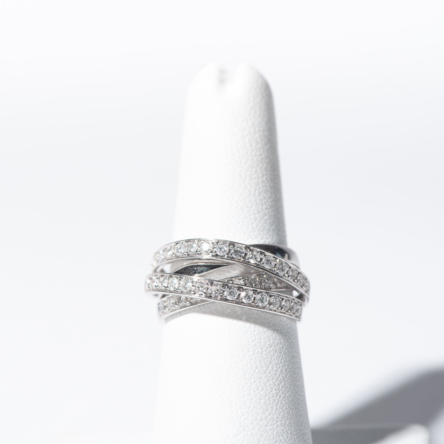 Design Thirty One.  - Diamond Wrap Ring.