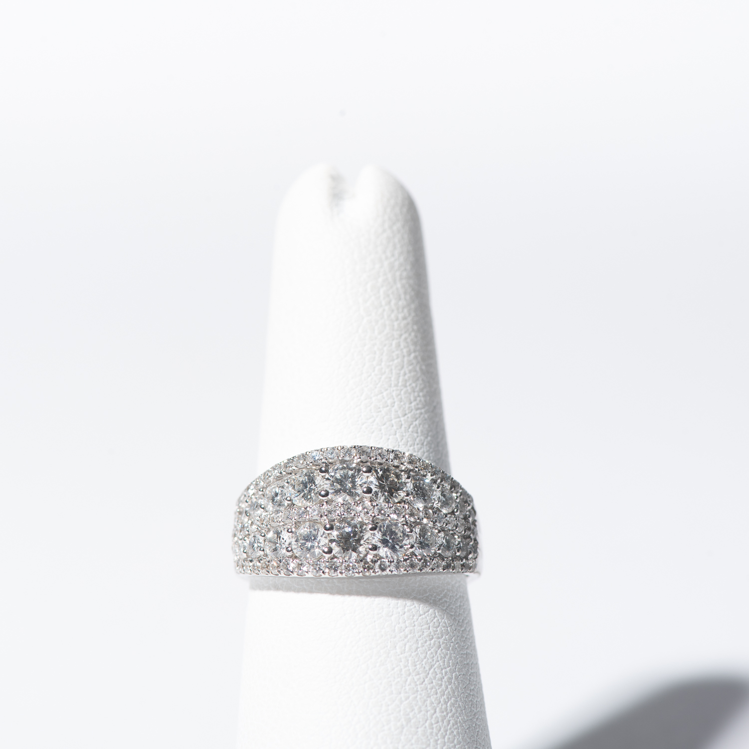 Design Thirty Four.  - Full Width Diamond Anniversary Band