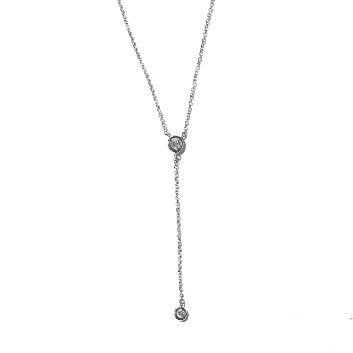 Design Fourteen. - Diamond Pendent with Diamond Pendent Charm