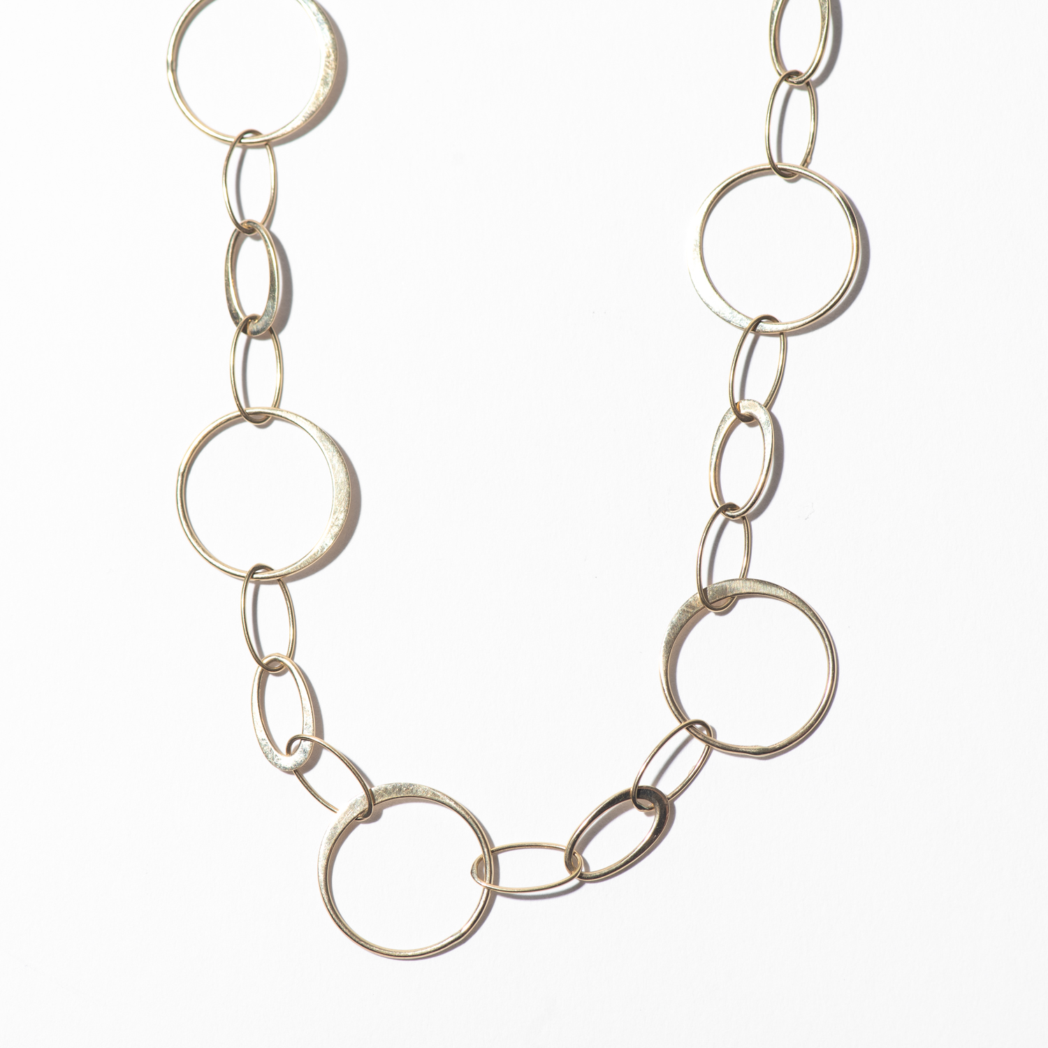 Design Thirty Two. - Modern Yellow Gold Chain Statement Necklace