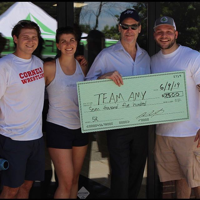 WHAT A GREAT EVENT!! thank you to all 135 of you who came out and ran our first ever Team Amy 5k and BBQ.  We raised $7,500 for brain cancer research!!! Look out for more to come from Team Amy and Apex Fitness in the near future! . Coming soon ..... .  THE APEX SERIES . Trail 🏃♀️ ✔️ Mountain 🏔  Stadium 🏟 Hydro 🌊