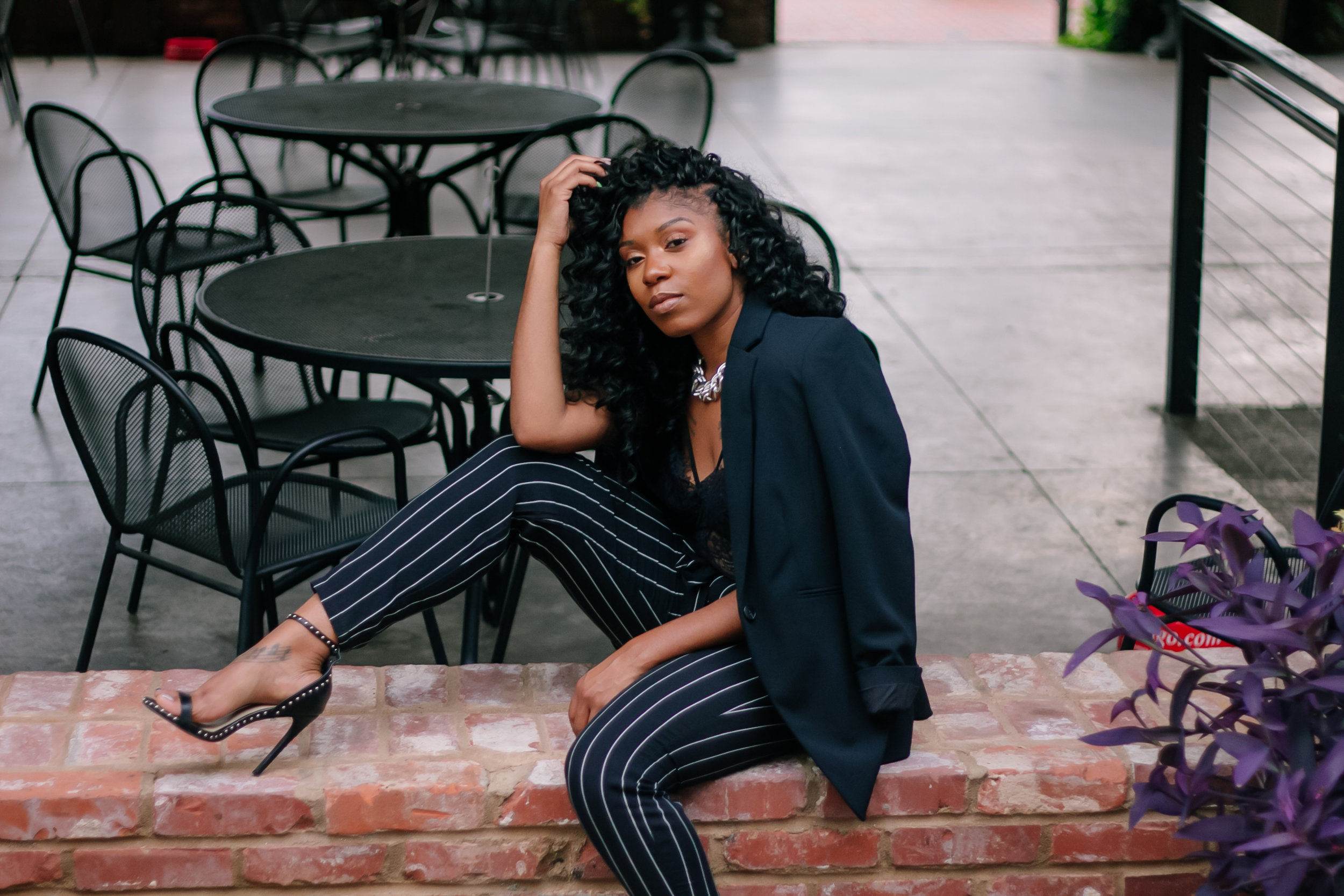 """Boss babe: beauty amour - Shaunell Davis: """"I was so nervous to do my photoshoot, since I hadn't been in front of the camera in years. But after seeing my images, I was like WOW! It really helped me believe in myself again!"""""""