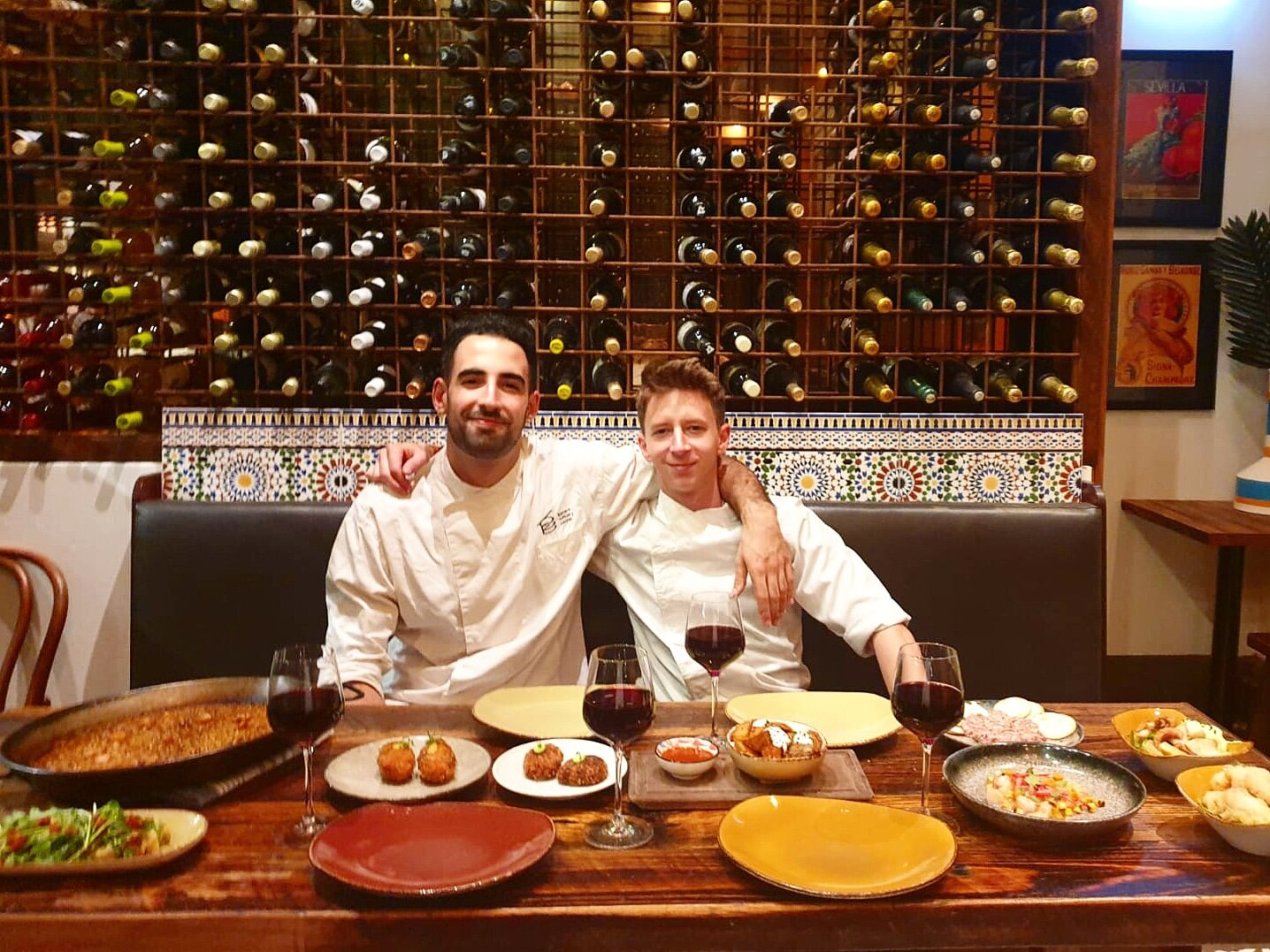 Ernesto Rodriguez + Marc Parareda   Head Chefs and Makers of All Things Delicious