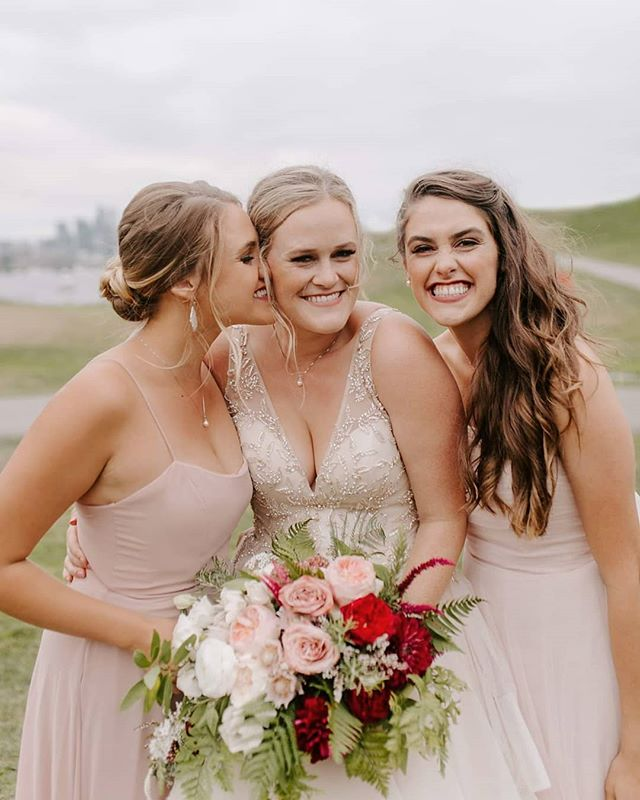 The funnest, cutest, kindest, most beautiful sisters I know. So lucky to have photographed two of their weddings! Thank you for always making me feel like part of the fam ladies!!