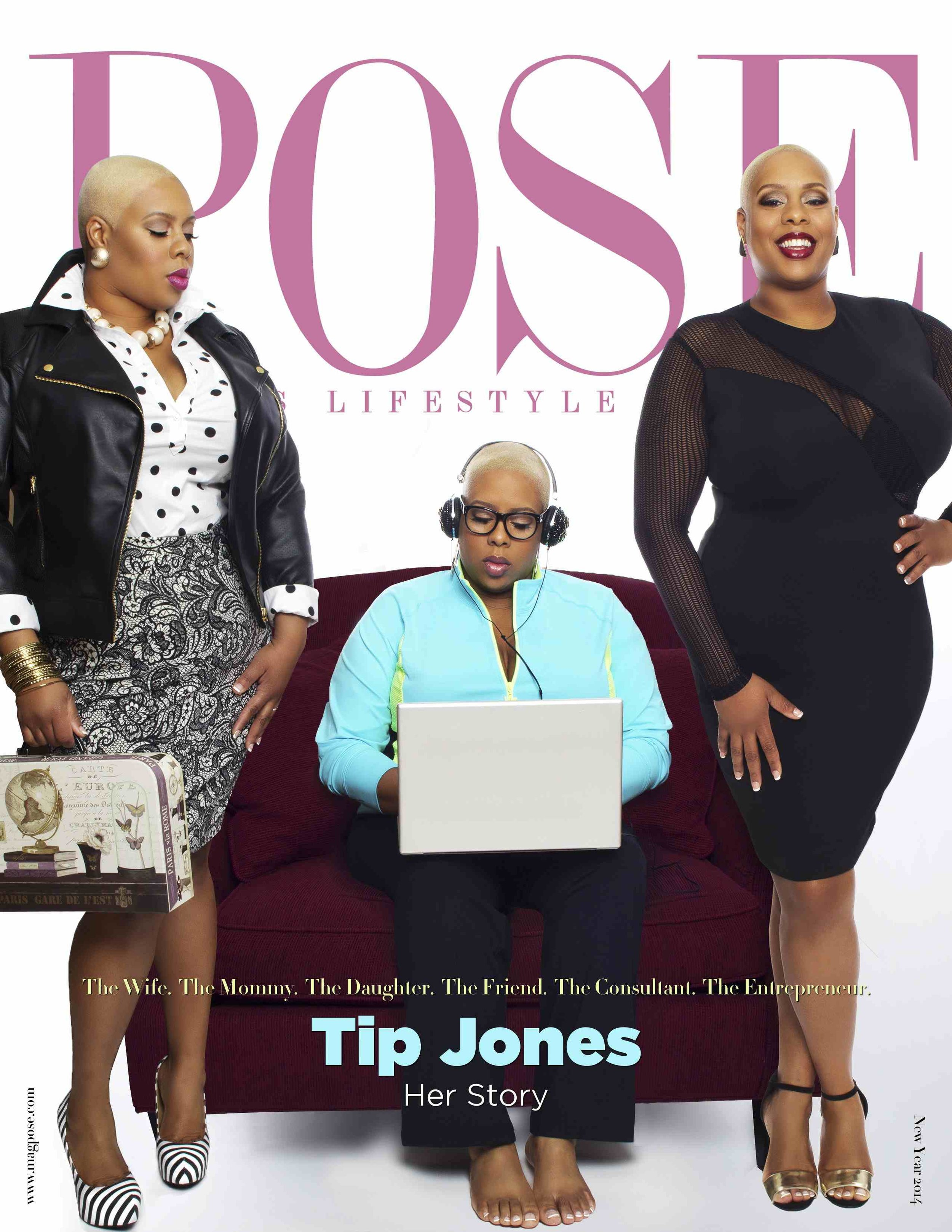 Tip Jones in POSE Magazine