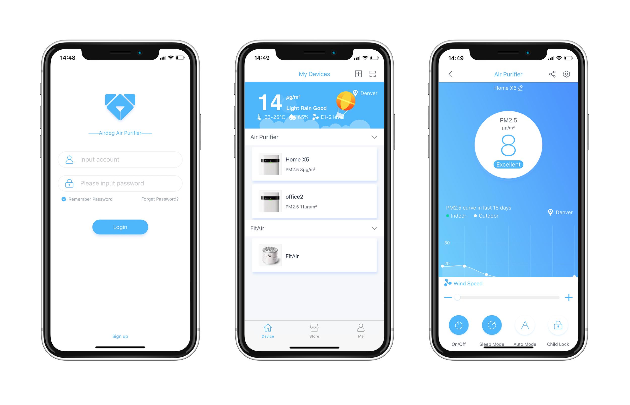 Airdog Smart App