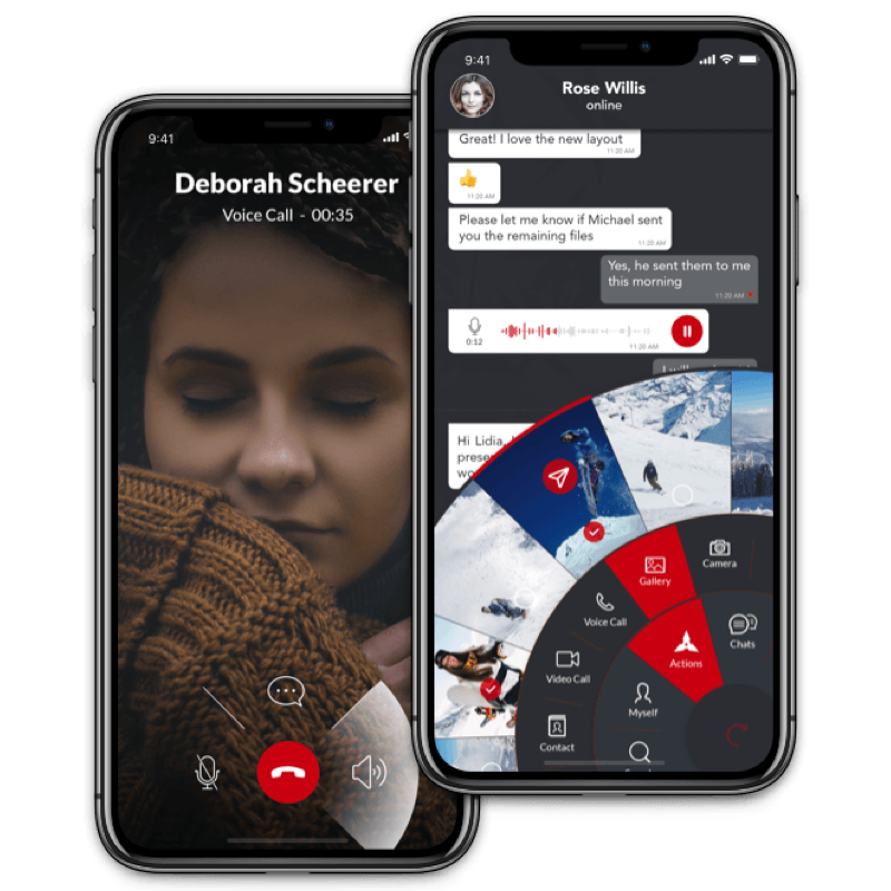WORK TOGETHER FROM WHEREVER YOU ARE - Call, text or video conference with groups of up to 100! Move from desktop to mobile and NYNJA goes with you. Working across borders? NYNJA will translate your messages in over 100 languages.