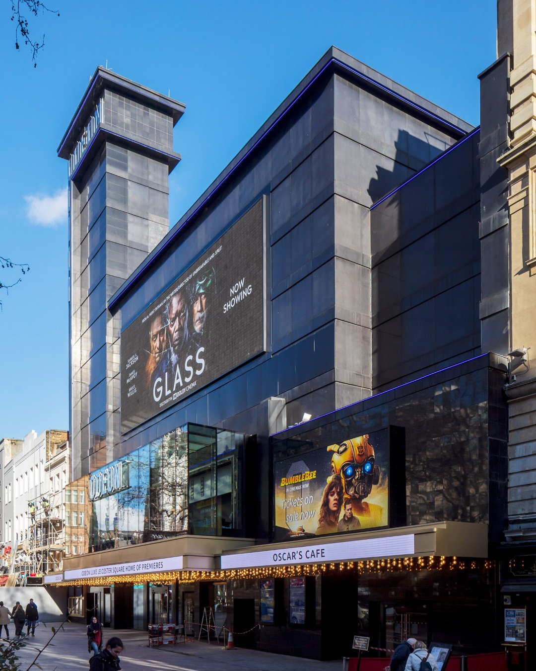 odeon cinema - Leicester square,