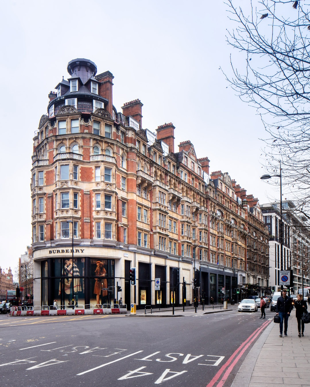 burberry building - knightsbridge, sw1