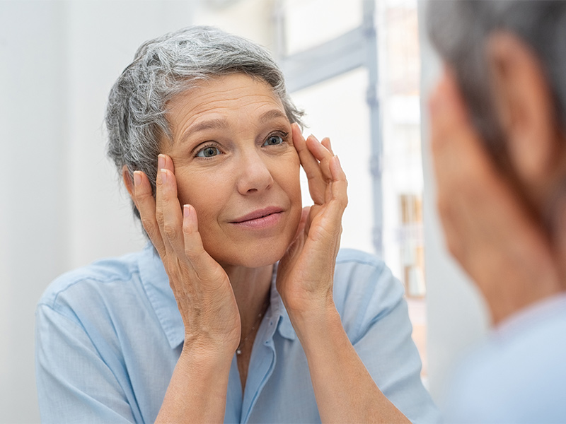 Facial filler treatment in Redding