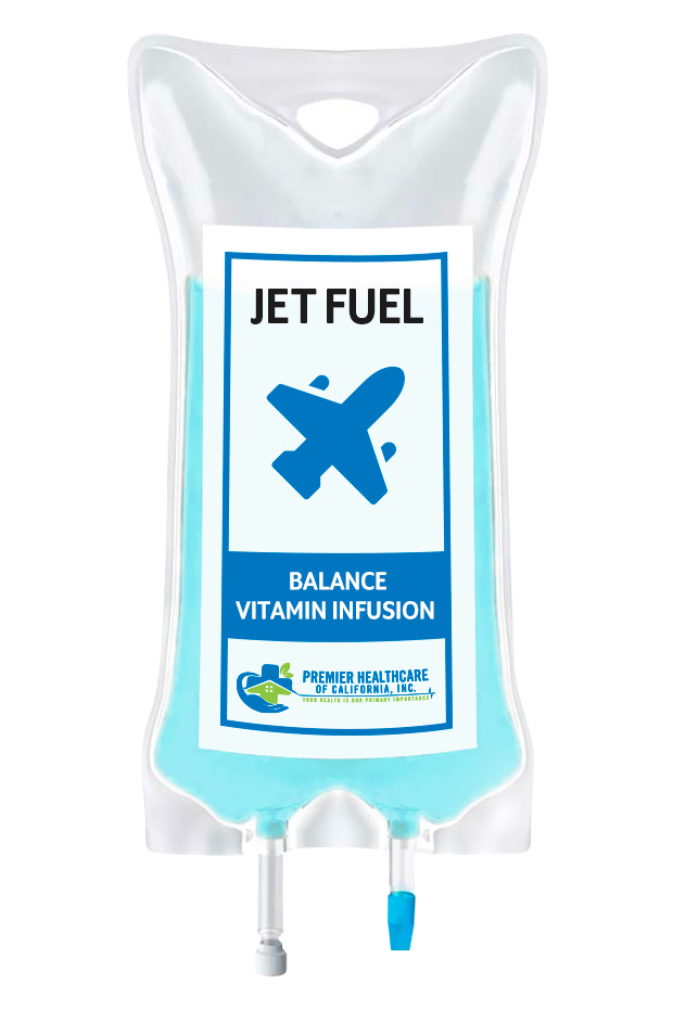 IV Infusion Jet Fuel Cocktail