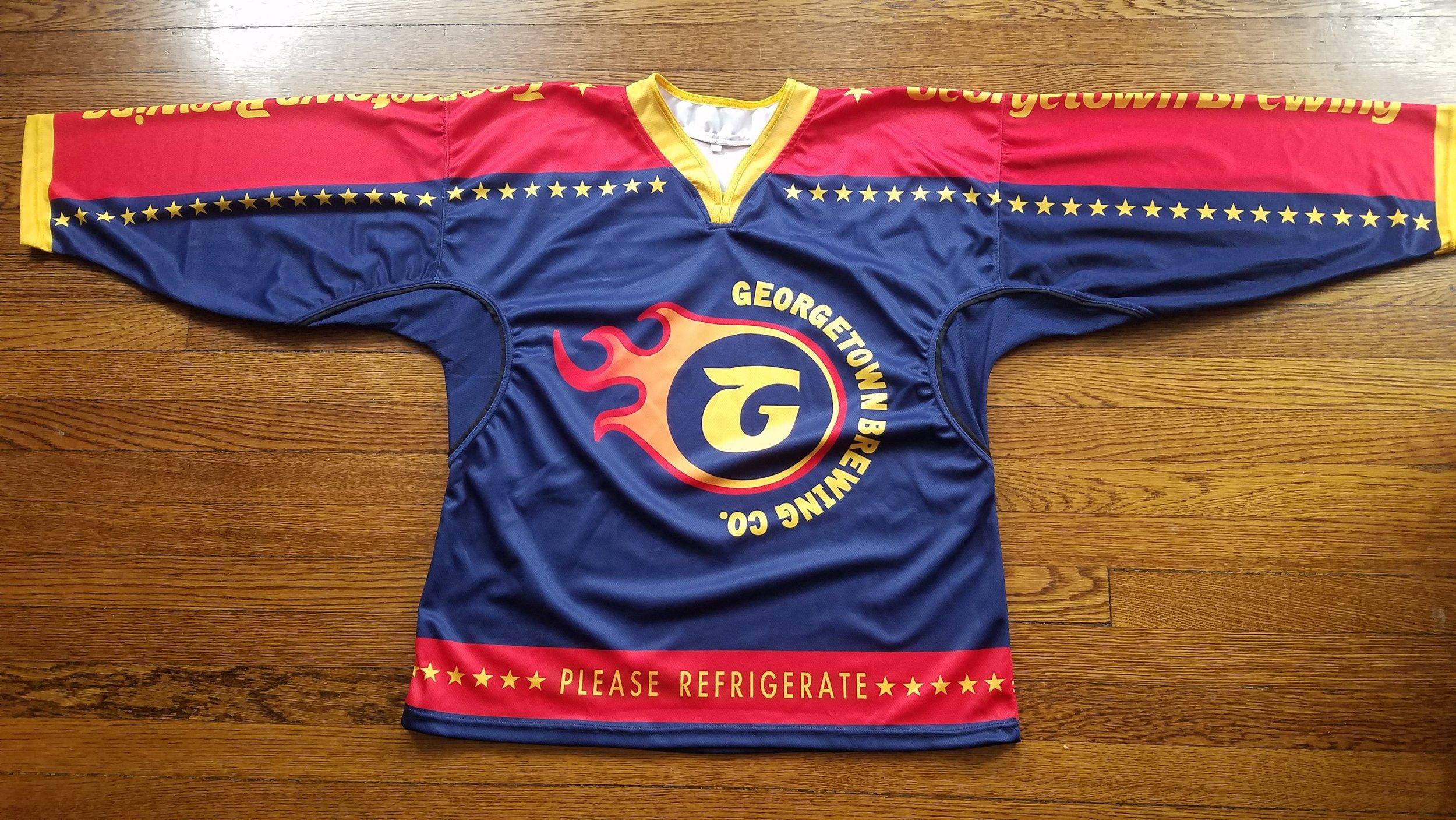 Flaming G's Hockey Challenge Team Jersey