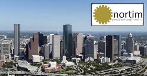 Houston, Texas Customer Visit - We're looking forward to visiting the guys at Halliburton at their Houston office. At Nortim, we're always willing to go the extra mile to assure customer satisfaction, well in this case 4,757 miles. We love to meet our customers face-to-face and discuss their needs.