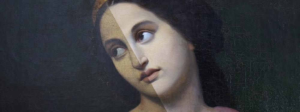 Before VS After -  Baumgartner Fine Art Restoration