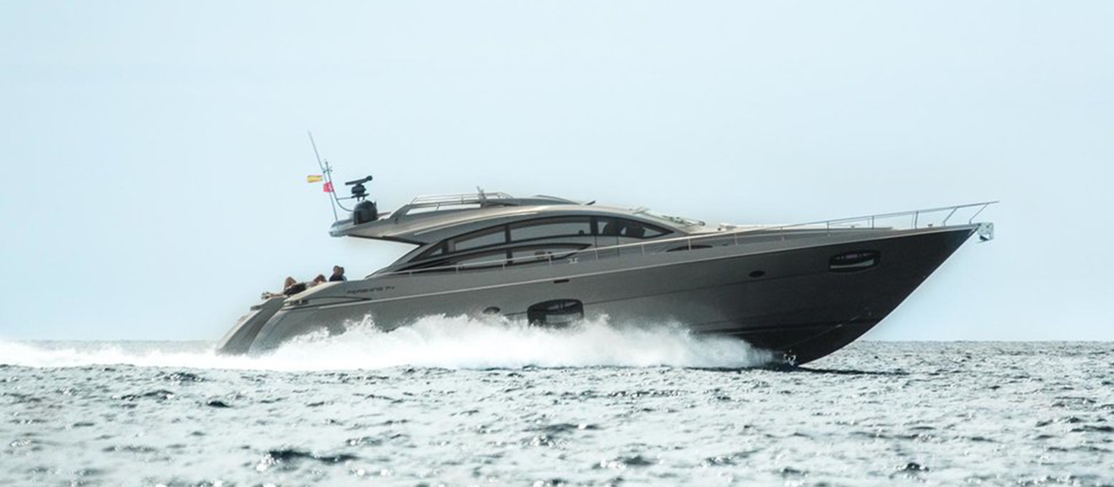 Stunning Pershing 74 from  Pershing Yachts.