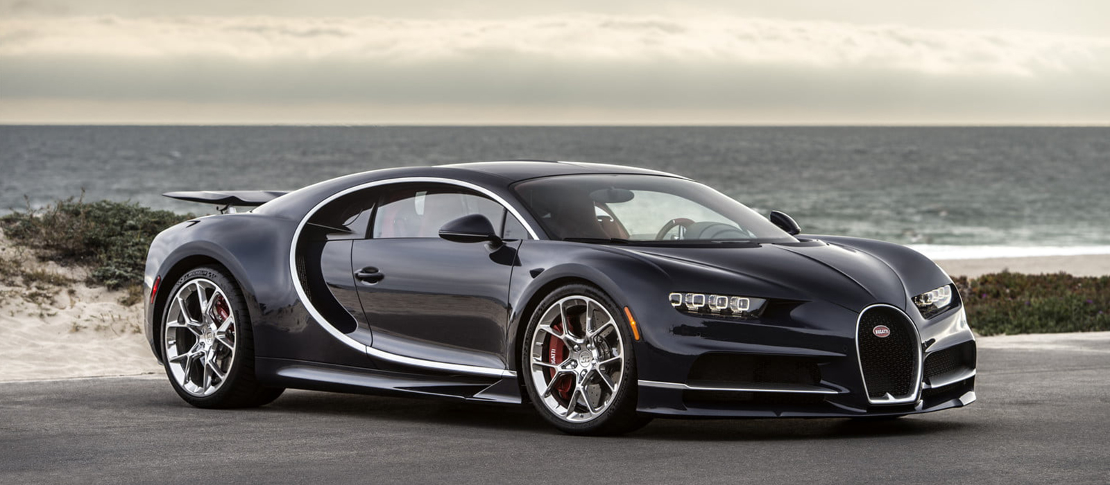Bugattis latest offering, the 8.0L Chiron.