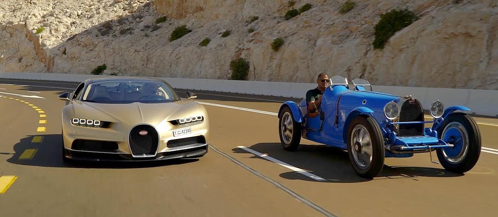 Chris Harris drives the Pur Sang Bugatti Type 35