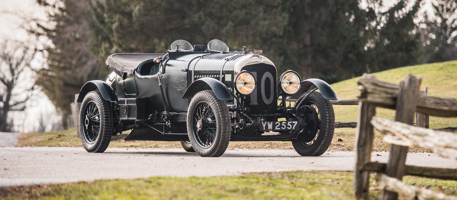 Bentley 4 1/2-Litre Le Mans Sports ''The Bobtail''