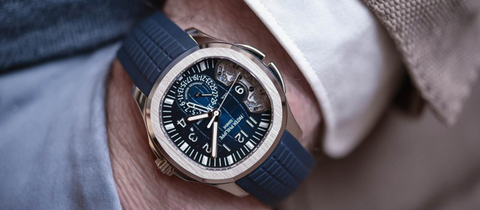You never actually own a Patek Philippe.