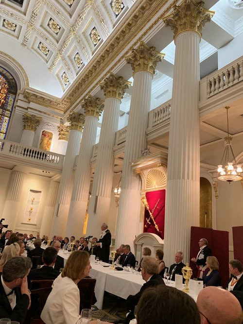 BROOKSTREET AT MANSION HOUSE WITH LORD MAYOR PETER ESTLIN