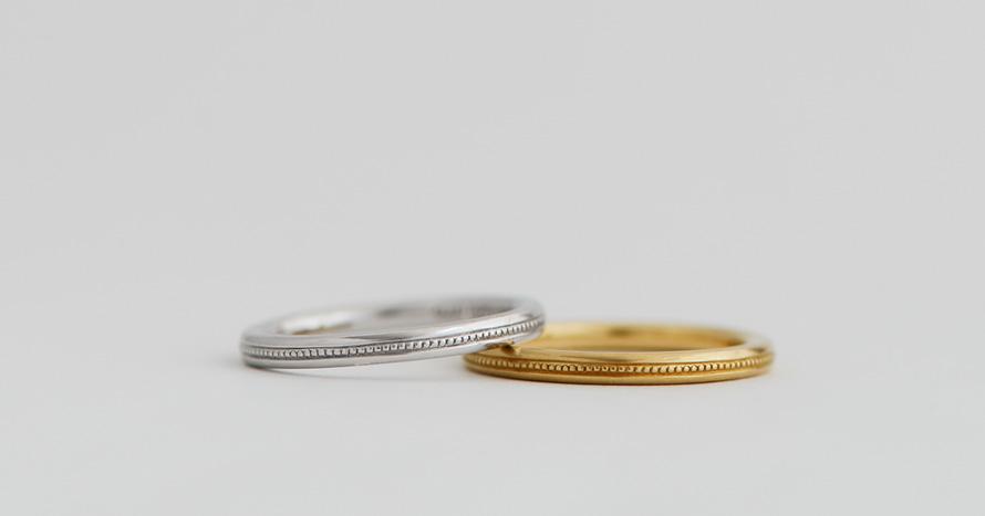 basic / milgrain ring / 80,000~