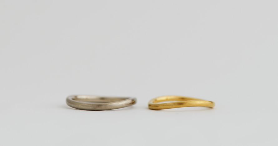 basic / curve ring / 80,000~