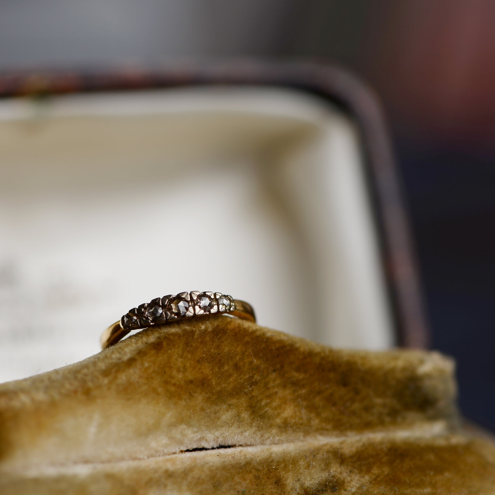 Krone ring(brown)