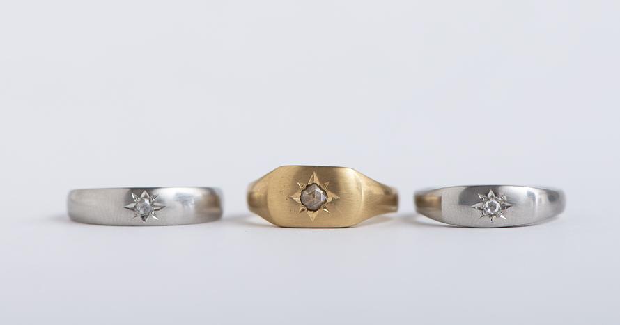 Signet ring Inlay 1 / 170,000~