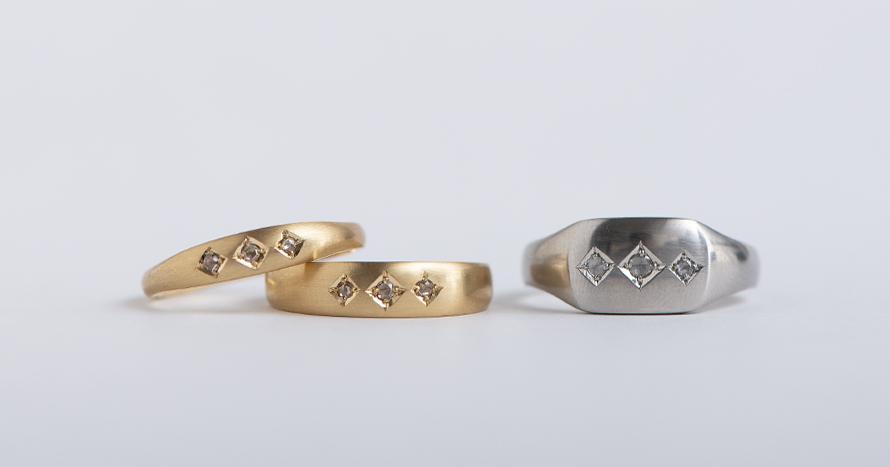 Signet ring Inlay 2 / 190,000~