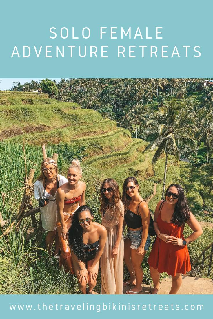 The traveling bikinis retreats