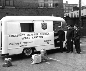 Emergency Disaster Service Mobile Canteen Louisville Kentucky