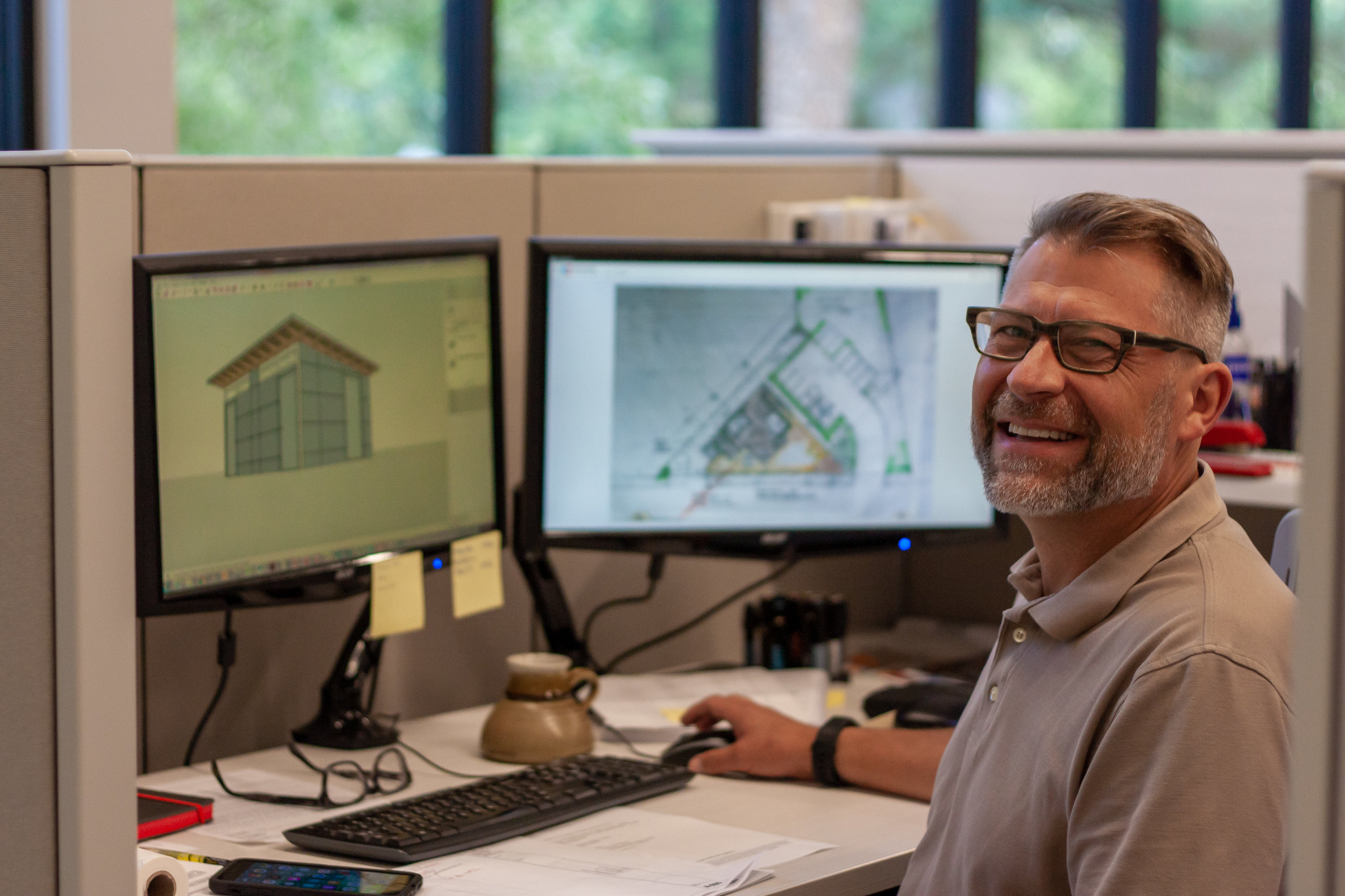 """""""The focus on making a meaningful impact for the community through our work is exciting. It's good to be a part of a team with a common goal."""" - brad S."""